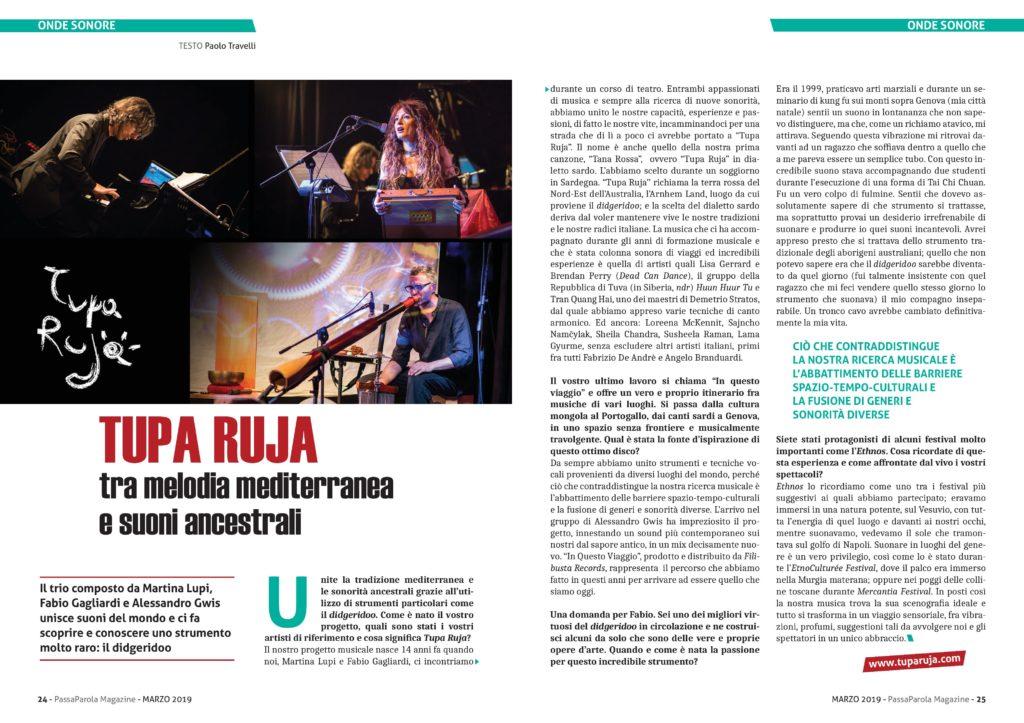 Onde Sonore - Passaparola Magazine