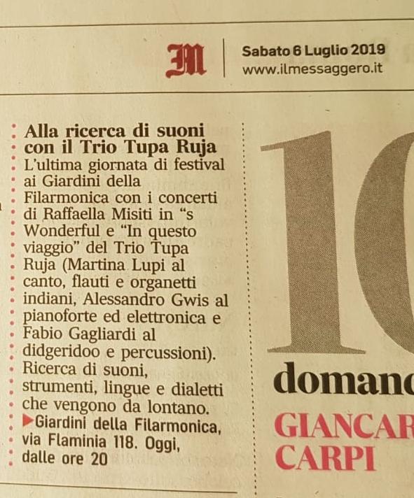 Concerto Accademia Filarmonica Romana