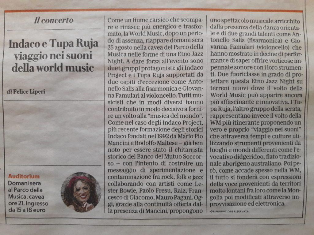 Concerto alla Cavea - Auditorium Parco della Musica